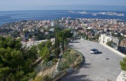 Bay City fördärvar panorama Arkivbild