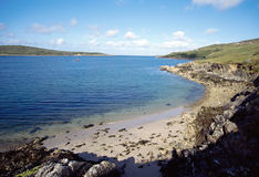 Bay of Clifden in Ireland Royalty Free Stock Photography