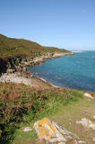 Bay on the coast of Herm Royalty Free Stock Photos