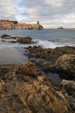 Bay of Collioure Stock Photo