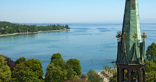 The bay of Constance, Lake Constance Royalty Free Stock Photography