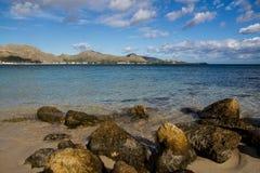 Bay de Pollenca immagini stock