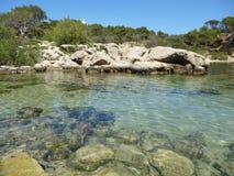 Bay de Sa Dragonera Στοκ εικόνα με δικαίωμα ελεύθερης χρήσης