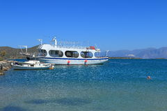 Bay of Elounda Royalty Free Stock Photos