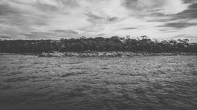 Bay Of Fires in Binalong Bay. Bay Of Fires, Binalong Bay during the day in Tasmania Royalty Free Stock Photography