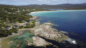 Bay of fires. Stock Image