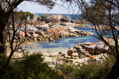 Bay of fires scenics Royalty Free Stock Photography