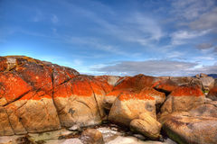 Bay of Fires, Tasmania Royalty Free Stock Photos