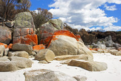 Bay of Fires, Tasmania, Australia Stock Photo