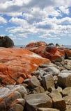 Bay of Fires, Tasmania, Australia Stock Photo