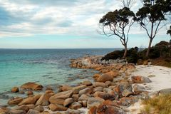 Bay of Fires, Tasmania Royalty Free Stock Photography