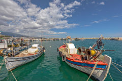 Bay for fishing boats Stock Image