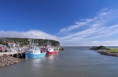 Bay of Fundy, New Brunswick, Canada Stock Photos