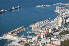 Bay of Gibraltar Royalty Free Stock Photography