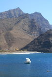 Bay in gran canaria island Royalty Free Stock Photography