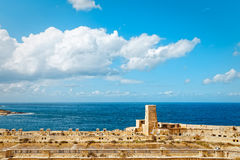 Bay of the Grand Harbour in Valletta Port.  Royalty Free Stock Photography