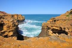 Bay on the Great Ocean Road, Australia Royalty Free Stock Photo