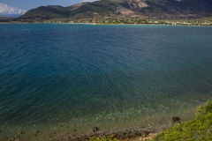 Bay in Greece Royalty Free Stock Images