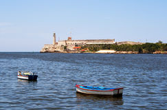 The bay of Havana Stock Photo