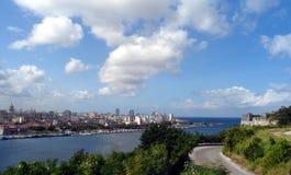 Bay of Havana, Havana, Cuba stock photo