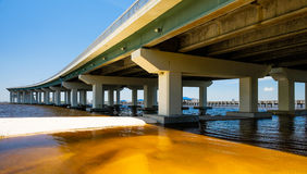 Bay highway Stock Photography