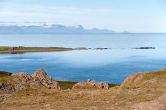 Bay in Iceland Royalty Free Stock Photo