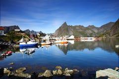Bay In The Lofoten Stock Photo
