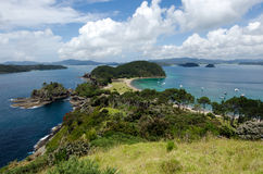 Bay of Island New Zealand - Roberton Island Stock Photo