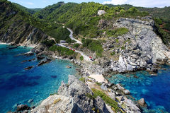 Bay on the island Stock Image