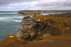 Bay of Islands. Great Ocean Road, Port Campbell National Park, Victoria, Australia Royalty Free Stock Image