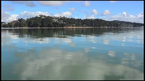 Bay of Islands New Zealand stock video footage