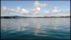 Bay of Islands New Zealand stock footage