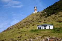 The Bay of Islands,New Zealand. Lighthouse at the Bay of Islands,New Zealand Royalty Free Stock Photo