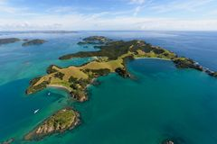 Bay of Islands NZ Royalty Free Stock Photos