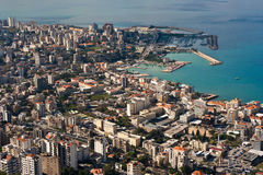 Bay of jounieh Stock Photo