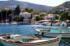 Bay of Kefalonia Stock Images