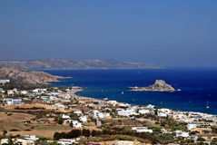 Bay of Kefalos in Greece Stock Image
