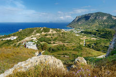 Bay of Kefalos on a Greek island of Kos Royalty Free Stock Images