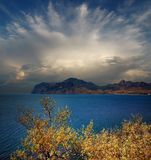 Bay of Koktebel, Crimea Stock Photo