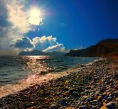 Bay of Koktebel, Crimea Stock Photography