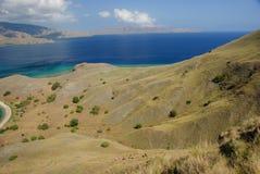 Bay of Komodo island Royalty Free Stock Images