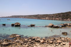 Bay of Konnos Royalty Free Stock Images