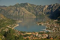 Bay of Kotor Royalty Free Stock Image