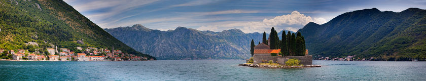 Bay of Kotor Royalty Free Stock Images