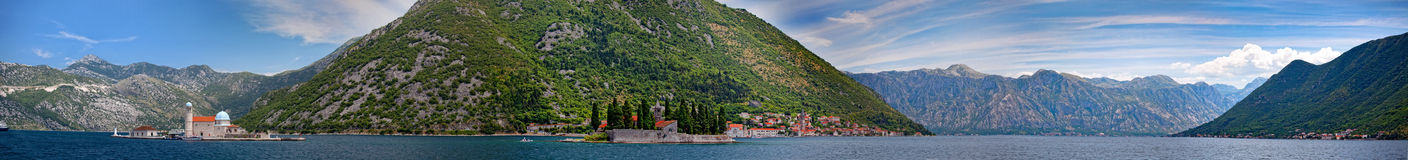 Bay of Kotor Royalty Free Stock Image