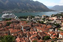 Bay of Kotor Stock Photography