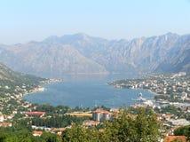 Bay of Kotor Stock Image