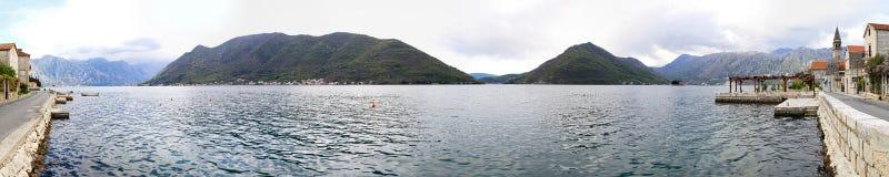 Bay of Kotor Royalty Free Stock Photos
