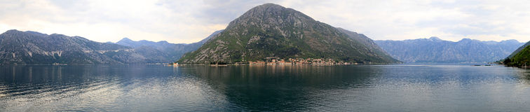 Bay of Kotor Stock Image