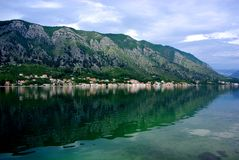 Bay of Kotor Royalty Free Stock Photos